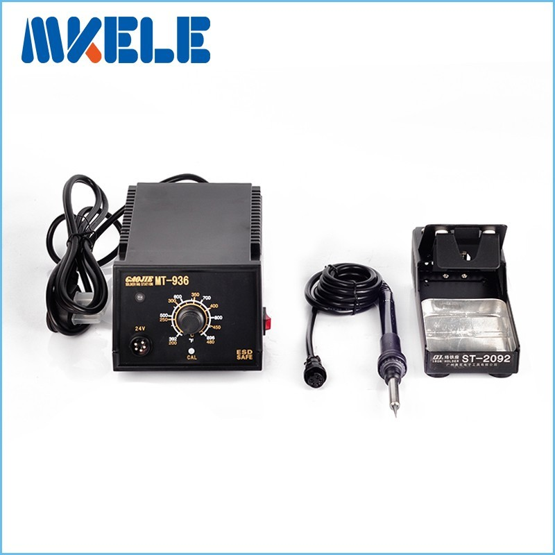 Hot sale 75W 220V Industrial grade Lead-free Soldering Station MT-936 Electric Iron Welding Soldering Rework Repair Tool  цены