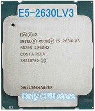 Oem 8 núcleos E5-2630LV3 ghz 20mb 22nm 1.80, versão original de LGA2011-3 intel xeon e5 2630lv3 cpu e5 263030l processador v3