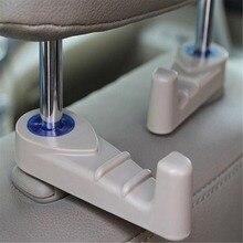 Nova Dupla Portátil Car Seat Auto Hanger Bolsa Bag Organizador Titular Gancho Para Opel Astra g/gtc/j/h Antara Corsa Meriva Zafira
