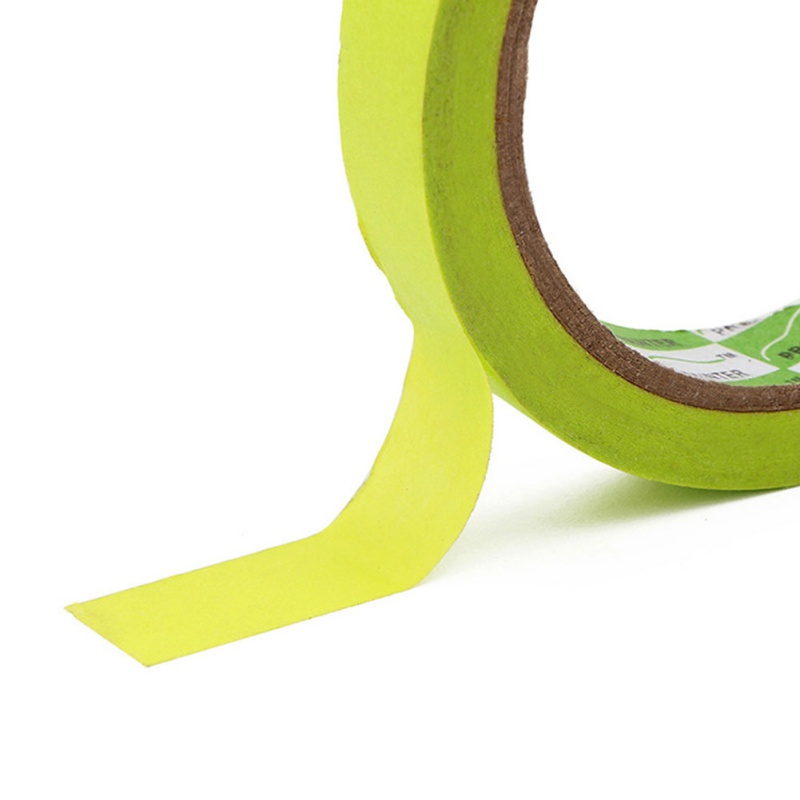 1 Roll Masking Tape Green Painters Tape Textured Paper Protection Car Painting Auto Detailing DIY Sticker 1.6cm*25m