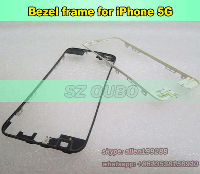 For iPhone 5 lcd touch screen middle bezel frame bracket , For ...