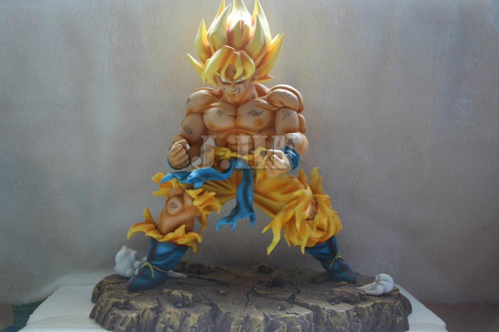 MODEL FANS Anime Dragon Ball Z 28CM Son Goku Resin GK Action Figure Toys [show z store] [pre order] fanstoys ft 28 hydra fans toys transformation figure