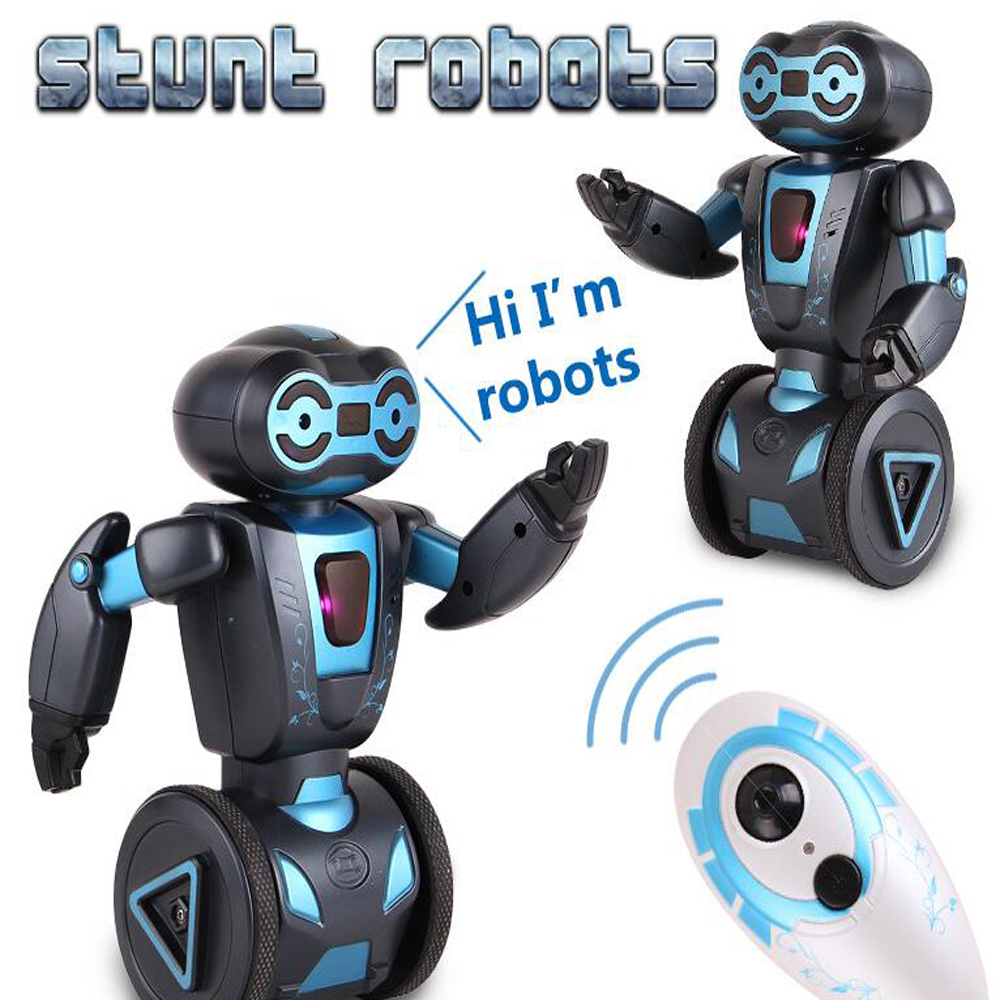 Interactive Robot Toys Intellectual Humanoid Robot Remote Control Smart Self Balancing 5 Operating Modes Robots Electronic Toys
