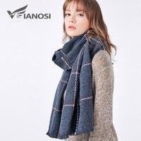 VIANOSI Women Scarf Newest Design Soft Warm Scarf Winter Brand Shawl Fashion Cachecol Thicken Long Echarpe