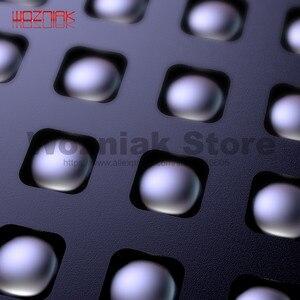 Image 2 - Qianli 3D Tin Planten Template Voor Iphone A7 A8 A9 A10 A11 Cpu Lettertype Bovenste En Onderste Niveaus Onderhoud Mesh zwart Staal Netto
