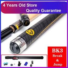 WOLFIGHTER 3142 бренд BK3 пул удар и прыжок кий 13 мм наконечник бильярдная палка прыжки Кии Спортивная ручка 147 см длина Китай