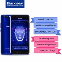 Blackview P6000 Smartphone 5 5 16 9 FHD Full Screen 6GB 64GB Helio P25 Octa Core