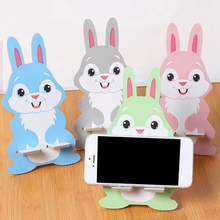 Univeral Lazy Mobile Phone Holder Accessory cute Animal Adjustable Cellphone Tablet Desktop Holder Stand цена
