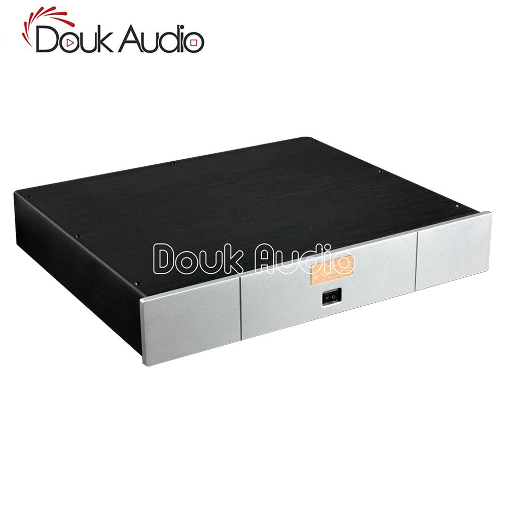 Douk Audio DAC Audio Decoder Chassis Aluminum Case DIY Enclosure Flat type W430*H70*D358mmDouk Audio DAC Audio Decoder Chassis Aluminum Case DIY Enclosure Flat type W430*H70*D358mm