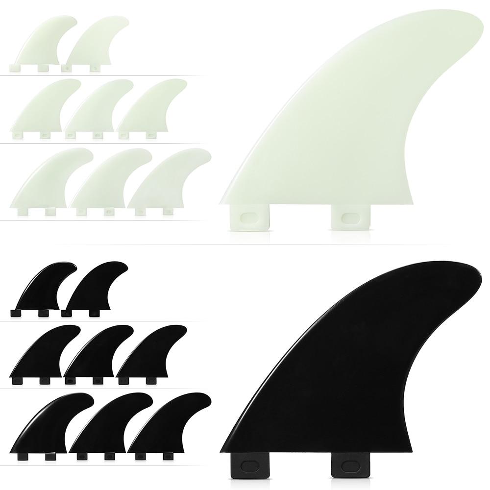 3PCS / 2PCS FCS Fins Surfboard Fin Thrusters Tir Fins Fiberglass Nylon Surf Fins GL / GX / M5 / G5 Cycling Parts Surfing Boats