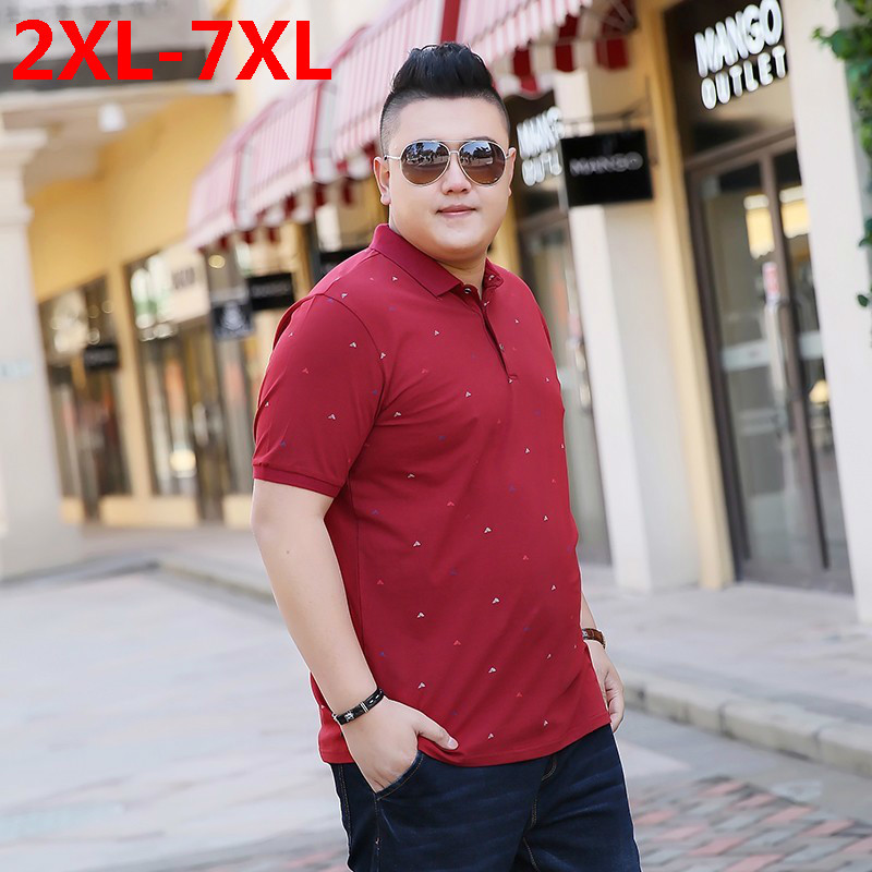 2018 nouvelle grande taille 9XL 8XL 7XL 6XL 5XL mode hommes palais dragon ball revers camisa polo masculina ralphmen pol chemise hommes polo