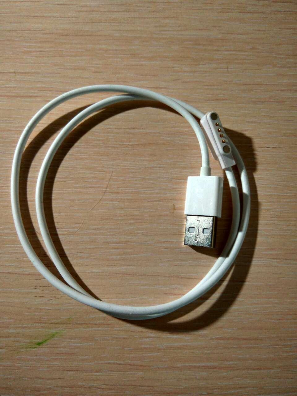 Cordon du chargeur pour kw88 kw18 q100 q750 montre connectée cordon du chargeur pour kw88 kw18 q100 q750 chargeur de montre câble