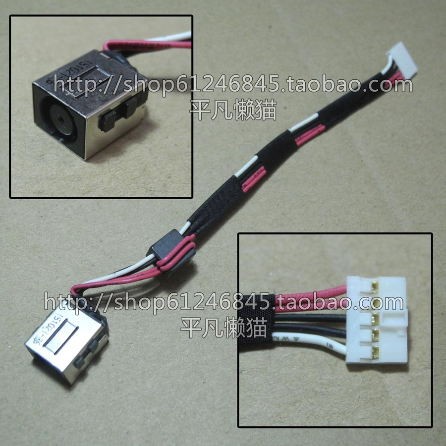 Free shipping For original DELL Latitude 3450 power connector with line power connector