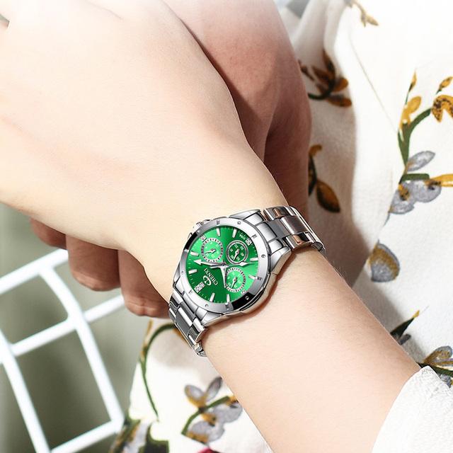New 2019 Wrist Watch Women Watches Ladies Top Luxury Brand Fashion Quartz Wristwatches For Women Clock Female Hours Montre Femme