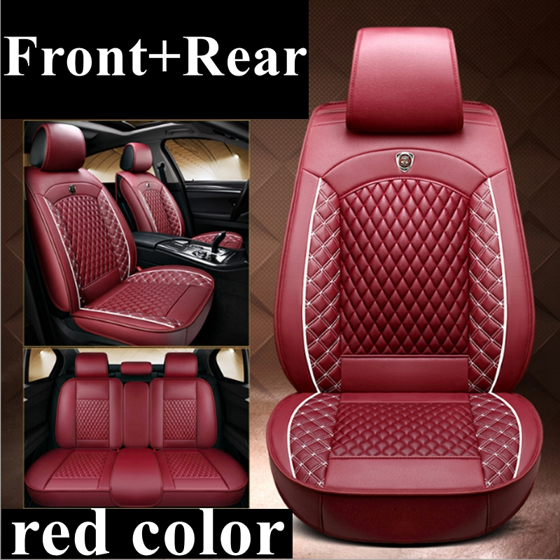 Pair of UK MADE Black /& Red Trim Car Seat Covers Mitsubishi FTO