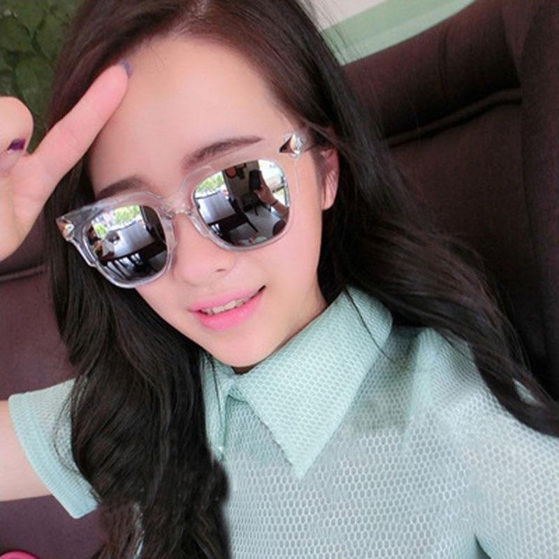 Retro do vintage Da Moda Óculos De Sol Das Mulheres Dos Homens Marca  Designer Coreano Coloridas Óculos de Sol Anti-Reflexo Óculos Oculos 1f3df2dda6