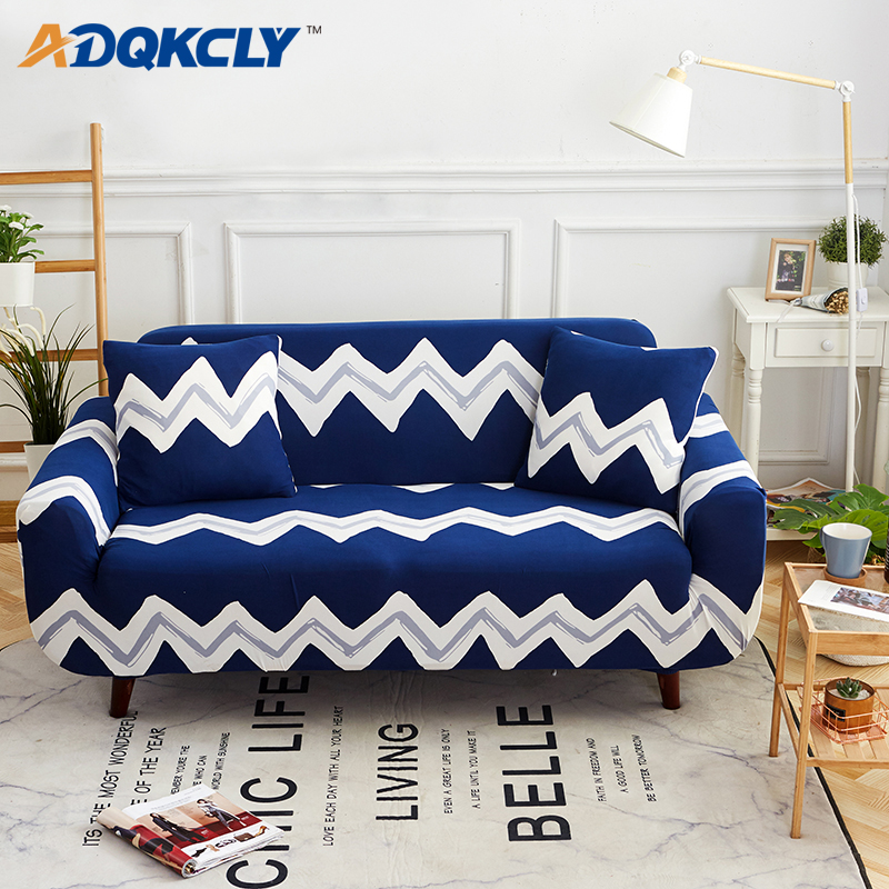 US $20.15 35% OFF|ADQKCLY Hot Sale Secontional Sofa Cover Spandex Elastic  Fabric Furniture Sofa Slipcovers all inclusive Chaise Sofa Towels 4 Size-in  ...