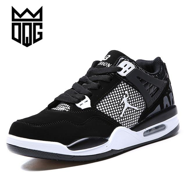 DQG 2017 Men's Basketball Shoes Breathable Jordan Shoes Men Basketball  Sport Shoes Autumn Ankle Boots Outdoor