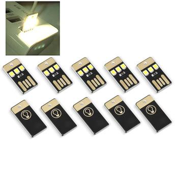 5 sztuk Mini USB dioda led dużej mocy światła noc Camping Eqpment dla Power Bank komputer bardzo niskie mocy 2835 chipy kieszeni karty lampy tanie i dobre opinie Kieszeń Multi Tools White 3 x SMD 2835 22Lm 0 2W (L x W x H) 2 40 x 1 10 x 0 20 cm 0 94 x 0 43 x 0 08 inches