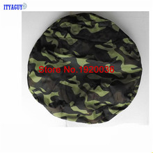"Car Styling Off-road Car HIGH QUALITY! Camouflage color PU spare tire cover custom 14 ""15"" 16 ""17"" PVC spare wheel cover CY-89"