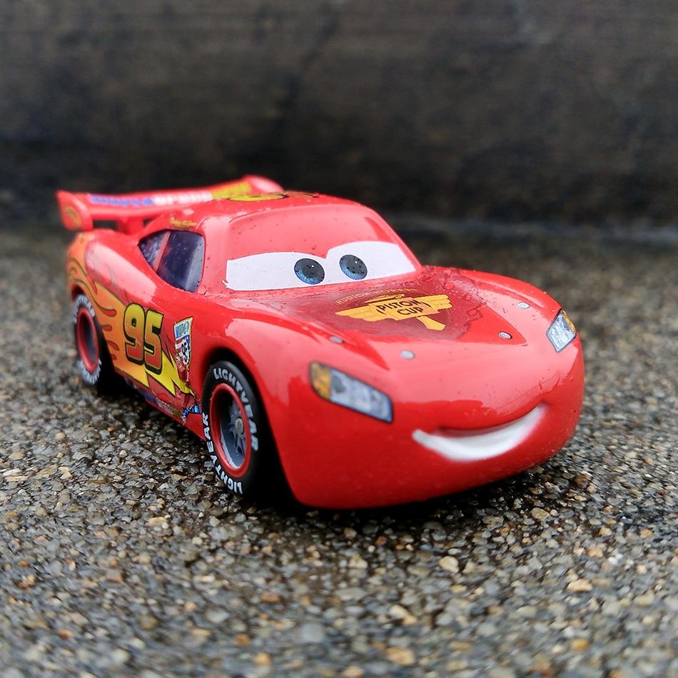 Disney Pixar тачки 3 20 стильные игрушки для детей Молния Маккуин Высокое качество Пластиковые тачки игрушки модели персонажей из мультфильмов рождественские подарки - Цвет: 02