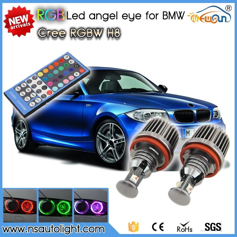 Newest! RGBW Remote control 36W rgb led marker Canbus Error Free for BMW E82 E87 E70 E71 E89 F01 F01 E90 E91