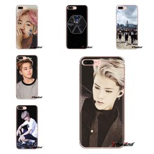 xiumin EXO south korean band For Samsung Galaxy A3 A5 A7 A9 A8 Star A6 Plus 2018 2015 2016 2017 Soft Transparent Shell Covers(China)