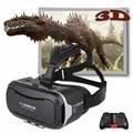 Shinecon VR Pro Версия Google Картон Виртуальная Реальность 3D Очки Гарнитура Глава Крепление Фильм Игра Для 4.5-6.0 дюймов телефон + Пульт Дистанционного