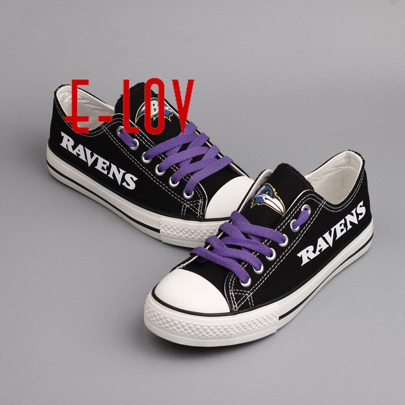 usa baltimore ravens black and purple background canvas