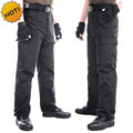 Outdoors Black Straight Multi-Pocket Military Traning Commando Tactical Baggy Combat Overalls Army Cargo Pants Men Plus Size 3XL