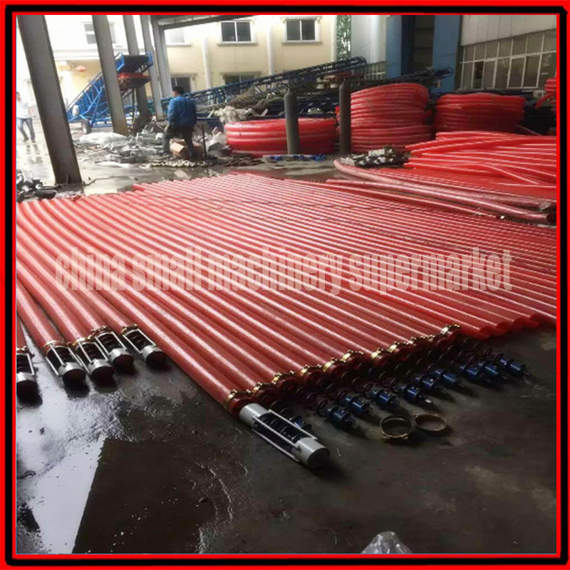 US $299 0 |Factory price 6000kg/h automatic eletric Self priming grain  conveyor Screw Conveyor Feeder for wheat rice corn Particle-in Food Mixers  from
