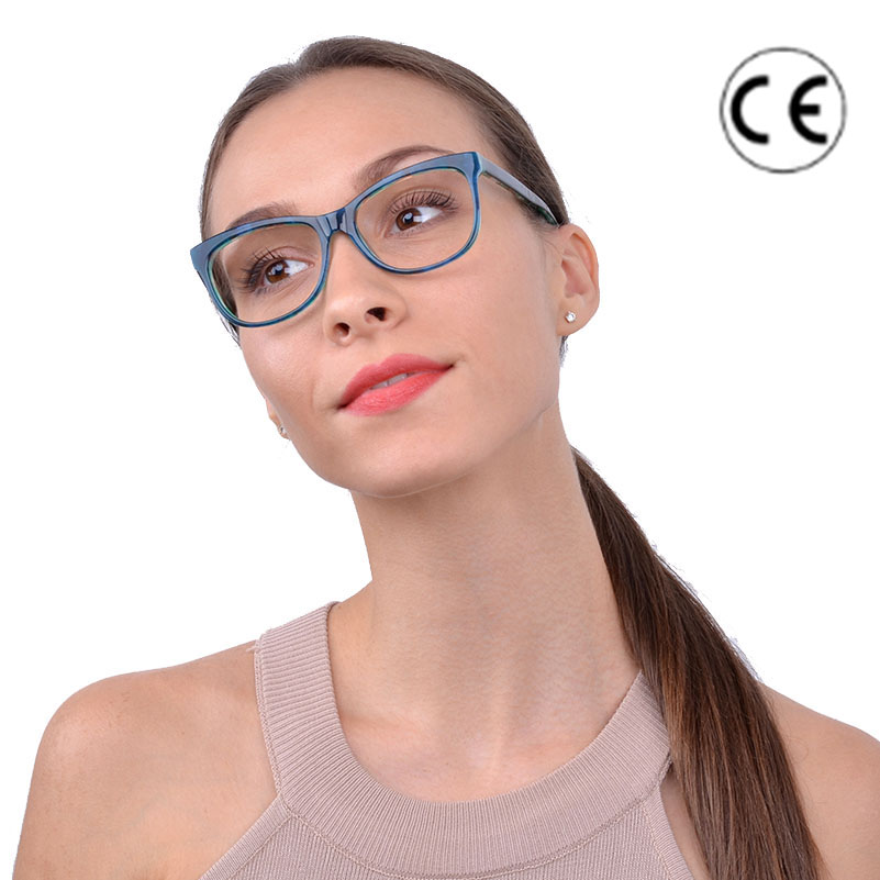 b4caff6c7f35 Cardinal 2018 Unique Design Women Eyeglasses Frame Fresh Green Print Color  Acetate Glasses Frame For Female Temperamenly Reading. В избранное. gallery  image