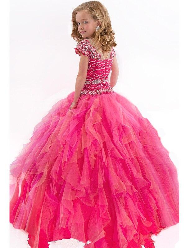 Bailarina flor vestido de niña vestidos baratos Chicago reino unido ...