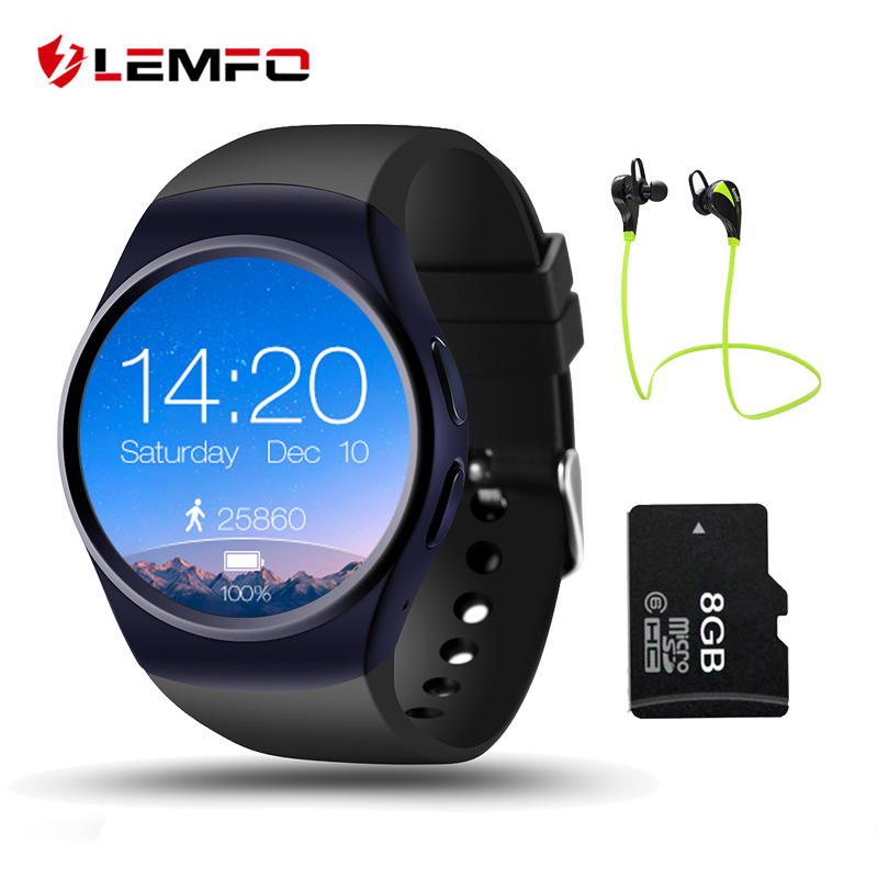 LEMFO LF18 Smart Watch Passometer SmartWatch Sim Card Heart Rate Monitor Smart Watches For IOS Android Phone Reloj Inteligente leegoal bluetooth smart watch heart rate monitor reminder passometer sleep fitness tracker wrist smartwatch for ios android