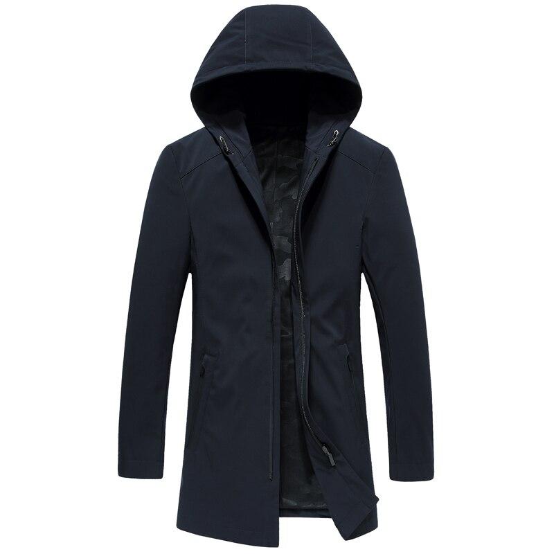 Женская длинная зимняя куртка EURASIA, новая брендовая стильная парка с воротником из натурального меха, плотная верхняя одежда с капюшоном, ... - 6