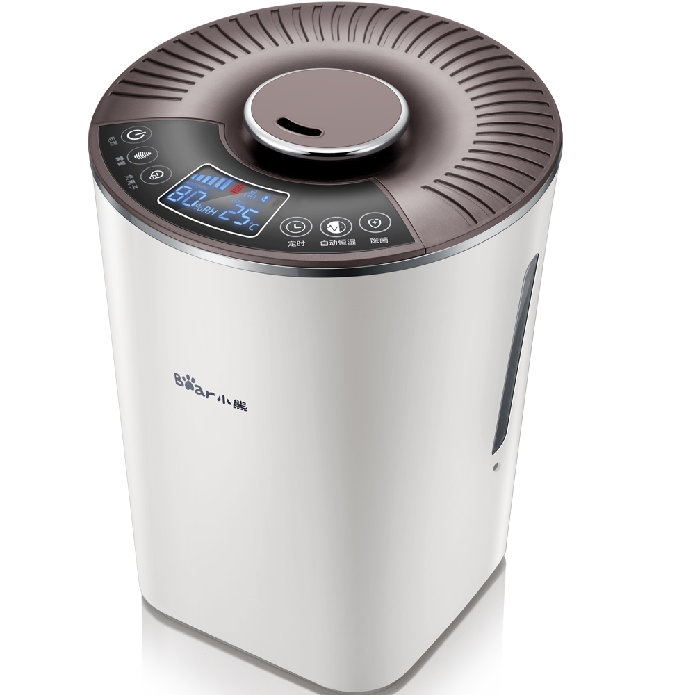 220V Ultra Mute 4L Intelligent Air Humidifiers Negative Ion Ultrasonic Sterilization Humidifier With Constant Humidity And Timer sterilizzatore ad ultrasuoni