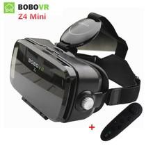 """Bobovr Z4 мини VR 3D картонные очки Bobo VR коробка 2.0 шлем виртуальной реальности очки VR коробка для 4.7- 6.2 """"смартфон"""