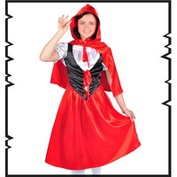 Grimm's Fairy Tales Cosplay Little red riding hood Cosplay Costumes Performance clothing European size Free Shipping