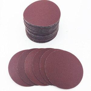 """Image 3 - Grit folha de lixa de areia 40ps 3 """"75mm 80mm, disco de lixa 320/400/600 disco de lixa para lixadeira/800/1000/1200/1500/2000"""