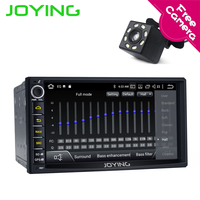JOYING 2 Din Universal 7'' Android 8.1 Car autoradio 4+64GB ROM head unit GPS stereo with carplay and android auto Built in DSP