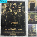 The Dark Knight Clown Catwoman Robin Home Furnishing decoration Kraft Movie Poster Drawing core Wall stickers