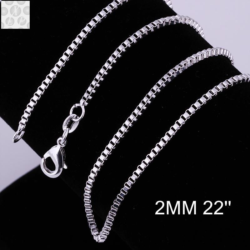 b9f57d4b4bfd C009-22 los diversos tamaños de la manera de la venta caliente 925 cadena  de la serpiente