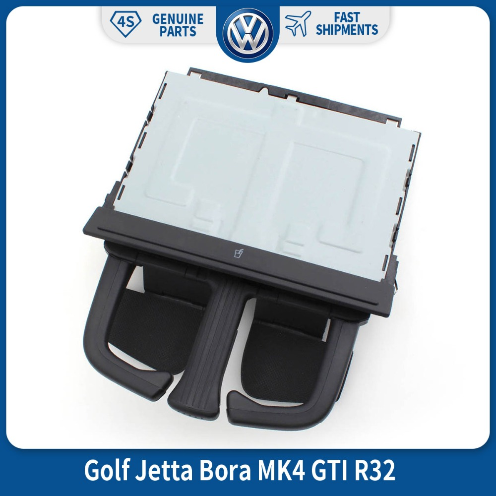 OEM Front Dash Fold VW Car Auto Drink Cup Holder til VW Volkswagen Golf Jetta Bora MK4 GTI R32 1J0 858 601 8P0 885 995B 6PS