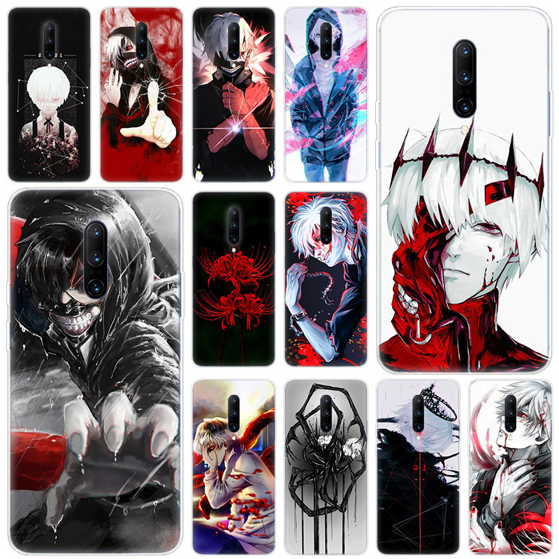 Hot Japanese anime Tokyo Ghoul Soft Silicone Fashion Transparent Case For font b OnePlus b font