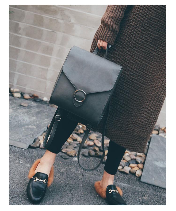 Retro Women's Rucksack Bag 27