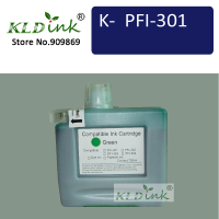 KLDINK PFI 301G Green Ink Cartridge ( PFI301 1493B001 Ink)