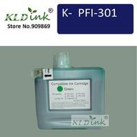Kldink PFI 301G cartucho de tinta verde (PFI301 1493B001 tinta) ink cartridge cartridge ink   -