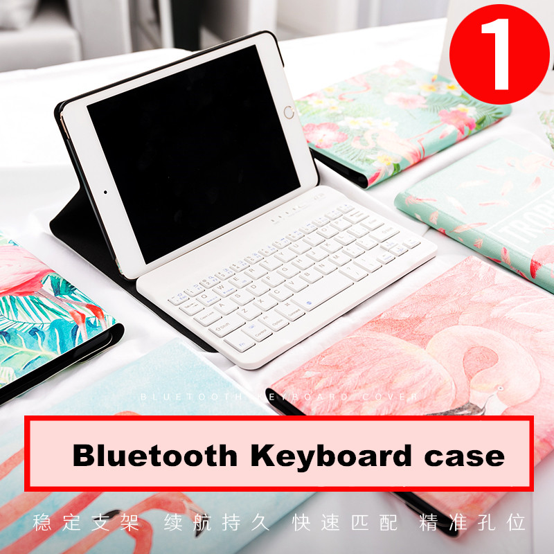 Flamingo Magnet Flip Cover For iPad Pro 10.5 Air Air2 Mini 1 2 3 4 Tablet Bluetooth Keyboard Case cover for iPad 9.7 2017 2018 simple blue sky flip cover for ipad pro 9 7 10 5 air air2 mini 1 2 3 4 tablet case protective shell for new ipad 9 7 2017 a1822