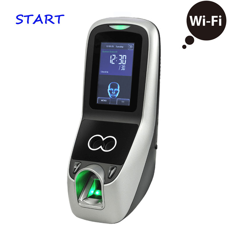 WiFi TCP/IP ZK IFACE7 3 Inch Touch Screen Face+Fingerprint+ Password Time Clock Attendance Face Recognition Access Control