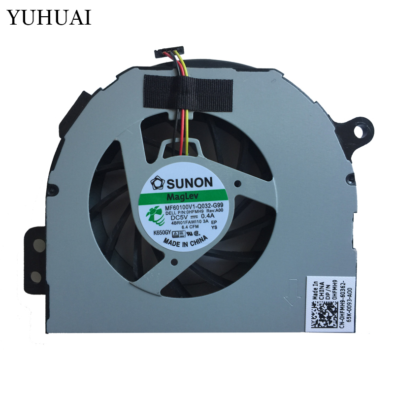 NEW CPU Cooling Fan For Dell Inspiron 1764 N4110 Vostro 3450 0HFMH9